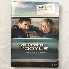 Republic of Doyle - Complete Fifth Season 5 on DVD - Five