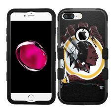 for iPhone 8 Plus Rugged Rubber+Hard Hybrid Case Washington Redskins #Glove