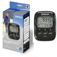 -Omron HJ325-EBK 3D Sensor Walking Style IV Step Counter - Black