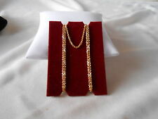 QVC New Vintage 18k Yellow Gold 20 inch Chain Necklace 3.5 grams
