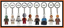 LEGO STAR WARS minifig ASAJJ Kit Fisto Luke Anakin skywalker trooper KEYCHAIN
