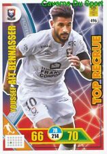 496 AIT BENNASSER MAROC SM.CAEN TOP RECRUE CARTE CARD ADRENALYN 2018 PANINI