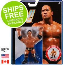 "WWE Mattel Retro Action Figure The Rock Dwayne Johnson 5"" Series 1 WWF Wrestling"