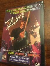 Zoro Commandmends Of R&B Drumming Sealed
