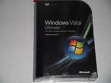 MICROSOFT WINDOWS VISTA ULTIMATE 32 & 64 BIT FULL VERSION