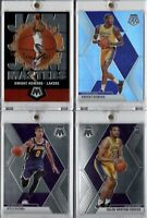 2019-20 Panini Mosaic LA Lakers Team Lot Dwight Howard Silver Prizm Kyle Kuzma