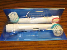 Two Genuine Braun Oral-B Ortho Electric Toothbrush Brush Heads for Braces