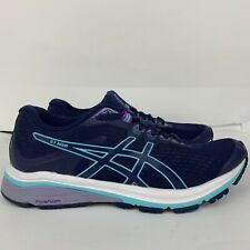 Asics Womens Size 8 Wide GT-1000 8 Peacoat Ice Mint Athletic Running Shoes