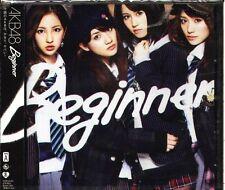 AKB48 - Beginner - Japan CD+DVD - NEW - J-POP  Type A