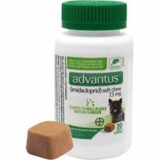 Bayer Animal Health Advantus Oral Dog Flea Treatment, Soft Chews 4-22 lbs, 30