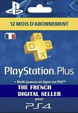 🎮 PS4 | Abonnement PlayStation Plus 12 Mois - PS+ | PSN | [LIRE DESCRIPTION]