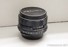 Honeywell Asahi Pentax Super Takumar 7-elements 50mm f 1.4 prime lens P/N 37800