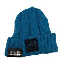 New Era 100% authentic Rare hat Knit Beanie Skully Carolina Panthers NFL blue