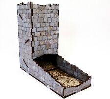 Stone Print Dice Tower, Warhammer, Role Playing, Infinity, Board games, 40k