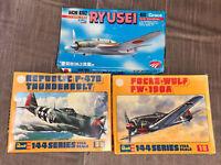 Small Model Airplanes Vintage Revell Thunderbolt Focke Wulf Unbuilt Gift