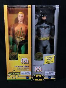 🔥 Aquaman And Batman 14'' Mego Action Figure SET Marty Abrams Exclusive NIB