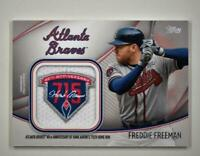 2020 Series 2 Jumbo Special Event Jersey Sleeve Patch #JSES-FF Freddie Freeman