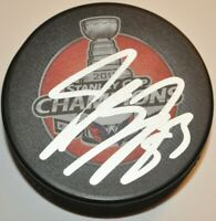 Jay Beagle Washington Capitals Autographed Signed 2018 Stanley Cup Puck COA