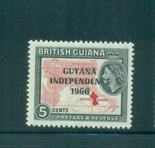 Guyana 1967- 1968 5c Guyana Overprint  Wmkd Upright  MNH  SG 433