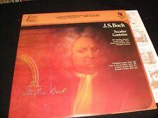 BACH°SECULAR CANTATAS<>ELLY AMELING<>Lp Vinyl~USA  Pressing~2PMC-2704