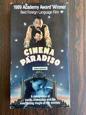 Cinema Paradiso (Vhs, 1999, Subtitled English)