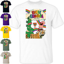 CARTOON: Uncle Granpa V1 animated TV Series poster T Shirt All sizes S-5XL