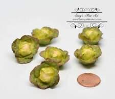 Dollhouse Miniature Summer Melon 2 Whole  2 Half 1:12 Vegetable Produce #3934