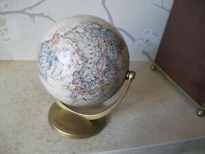 "Insight World Globe - 5.5"" HIGH - Printed In Germany - Desk Decoration"