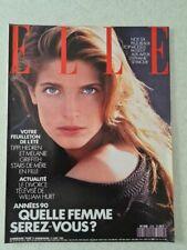 Magazine mode fashion ELLE french #2276 21 aout 1989 Stephanie Seymour