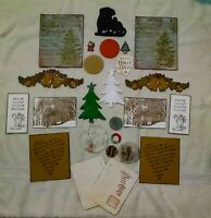 card 2pc die cut card stock and chipboard vintage camera lot scrapbook Sizzix