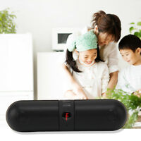 Haut-parleur Enceinte Bluetooth sans fil Portable Capsule-shaped Design FM Radio
