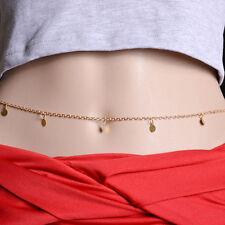 1Pcs Gold Body Chain Jewelry Bikini Waist Belly Beach Harness Slave Necklace