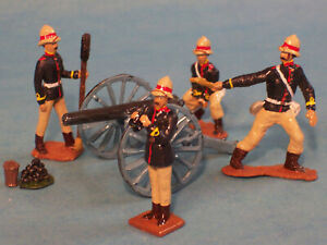 Toy Soldiers-Britain's Victorian Army Artillery-British Cannon-2nd Afghan War