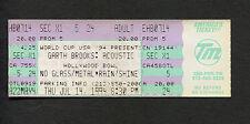 1994 Garth Brooks Unused Full Concert Ticket Hollywood Bowl Acoustic