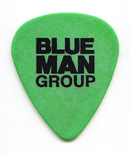 Blue Man Group Green Guitar Pick
