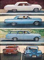 1964 Chevrolet Impala Chevelle 2-page - Advertisement Print Art Car Ad J891