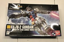 GUNDAM RX-78-2 prototype close nuovo hg 191 1/44 Bandai Gumpla