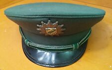 Vintage Wool German Military Field Cap  Bamberger Mutzen industrie