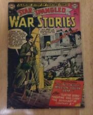 STAR SPANGLED WAR STORIES #132 1952 REALLY#2! CLEAN G/VG ADS 4 AAMW#1 4 STORIES