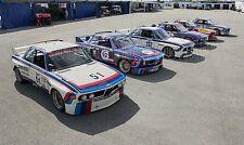 BMW CSL at Daytona Vintage Classic Race Car Photo CA-1147