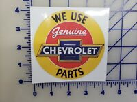 Official Chevrolet Only parts Logo Vinyl Decal