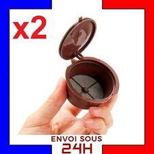 2 Capsule café Dolce Gusto réutilisable rechargeable capsules LIVRAISON RAPIDE