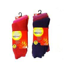 Ladies 3 Pack Red Tag Thermal Socks 41B260
