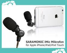 Saramonic iMic Mikrofon f. Apple iPhone iPod Touch iPad mit 3,5mm Mini-Klinke