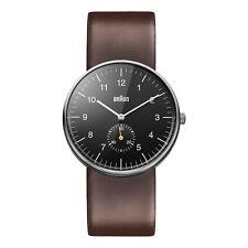 Braun Herren BN0024 klassisch Uhr mit Lederband WHBKG 66503
