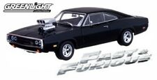 Greenight ~ Fast and Furious Dom's Black 1:43 1970 Dodge Charger RT(86201)
