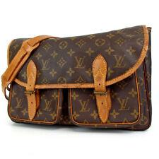 Authentic LOUIS VUITTON Monogram Givesier GM Shoulder Bag PVC/leather[Used]