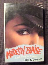 1976 Modesty Blaise LAST DAY IN LIMBO Peter O'Donnell 1st Ed. HC/DJ SIGNED