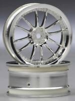 HPI 3280 Work XSA 02C Wheel 26mm Chrome 3mm Offset (2)