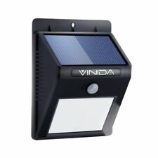 Solar 12 outdoor lighting with timer ebay 8led solar power pir motion sensor wall light outdoor garden waterproof lamp workwithnaturefo